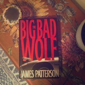 James Patterson the big bad wolf hardcover book